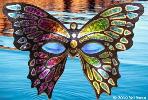 Water Butterfly photo collage