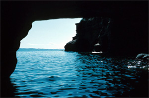 water tunnel grotto